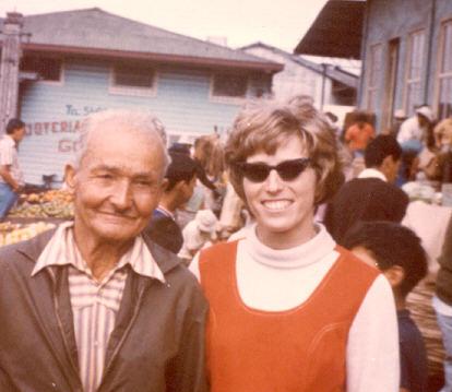 Sylvia in Cartago, Costa Rica