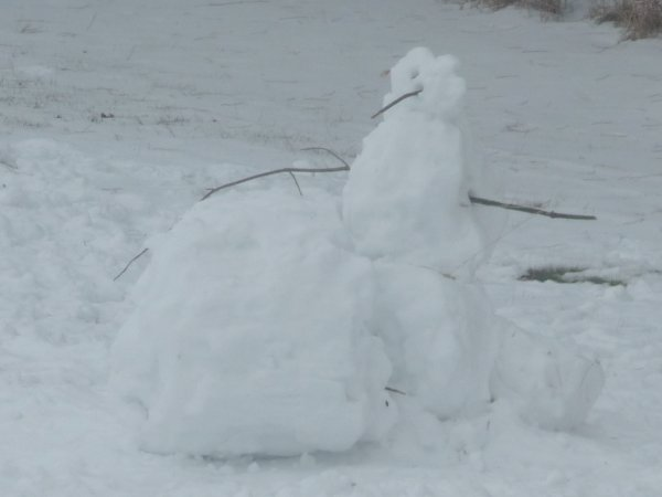 It's as snow person.