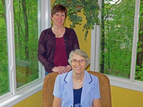 Barbara and Sylvia