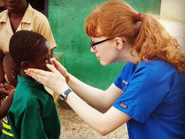 Studied in Ghana